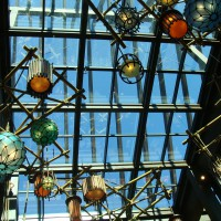<b>WDW Hotel Atrium – Orlando, FL</b></br>Design/build 50' x 90' Acurlite ridges</br>GC – Balfour Beatty Construction